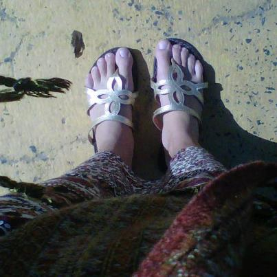 The feet that have roamed the world.
