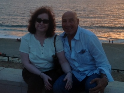 Enjoying the sunset in Redondo Beach, California